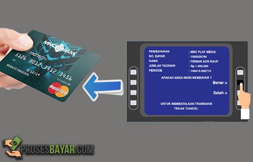 Cara Bayar Kartu Kredit MNC Via ATM Mandiri