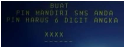 Cara Daftar SMS Bangking Mandiri Via ATM 5