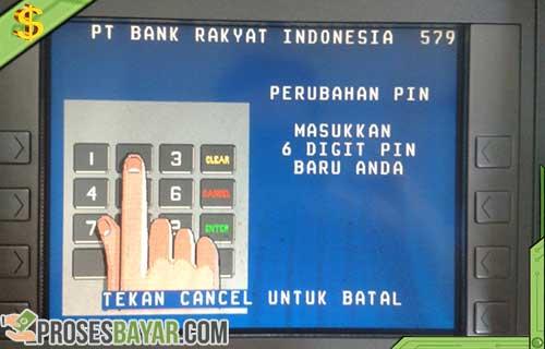 Cara Ganti PIN ATM BRI Lewat Mesin ATM