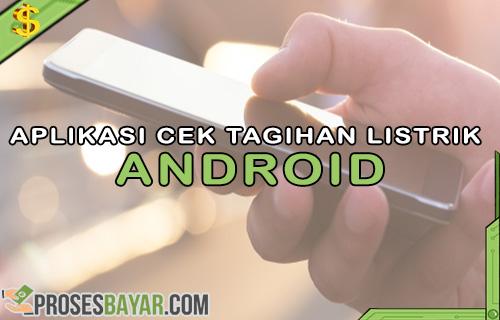 Aplikasi Cek Tagihan Listrik