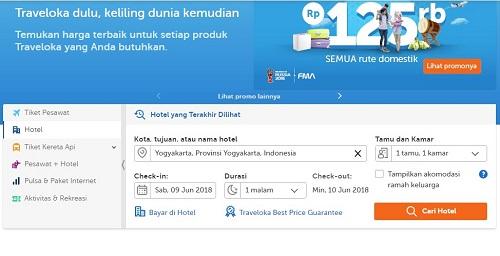 Cara Booking Hotel Online, Mudah dan Cepat