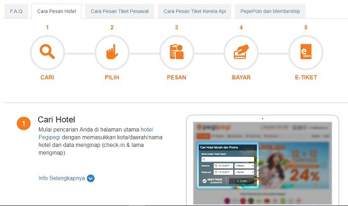 Cara Booking Hotel Via Pegipegi