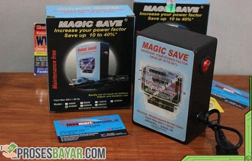 Alat Penghemat Listrik Token Magic Save