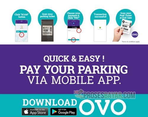 Cara Bayar Parkir Pakai OVO