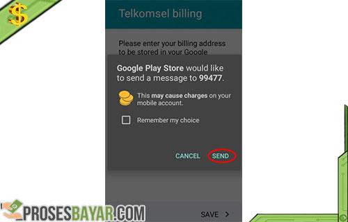 Cara Mengisi Saldo Google Play Dengan Pulsa 6
