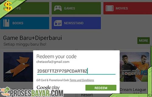 Cara Menukar Kode Voucher Google Play Indomaret 3