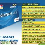 E Toll Card Indomaret