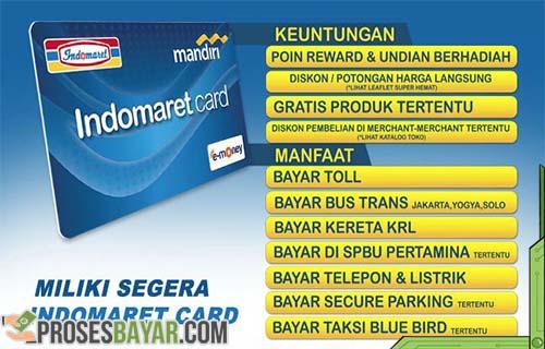 E-Toll Card Indomaret