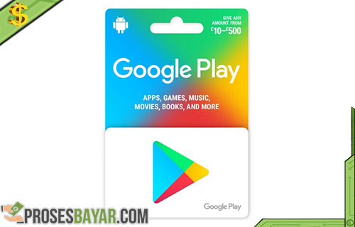 Beli Google Play Gift Card Murah