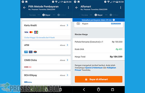 Metode Dan Cara Pembayaran Tiket Bus Online