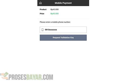 Menu Mobile Payment