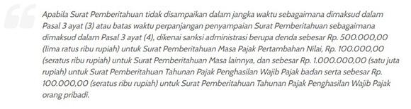 Pasal 7 ayat 1 Undang-Undang Nomor 28 Tahun 2007