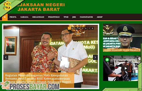 Cara Bayar Tilang Online Wilayah Jakarta Barat