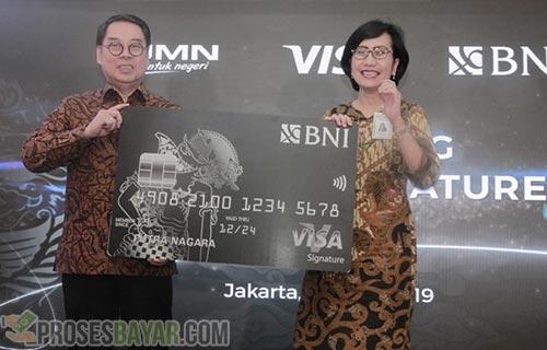 Cara Daftar Kartu Kredit BNI Visa Signature