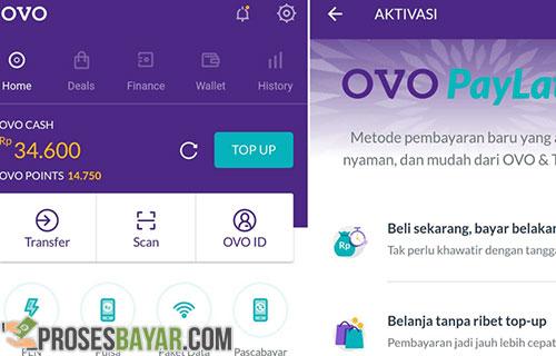 Cara Aktifkan OVO Paylater & Aktivasi OVO Paylater Tokopedia