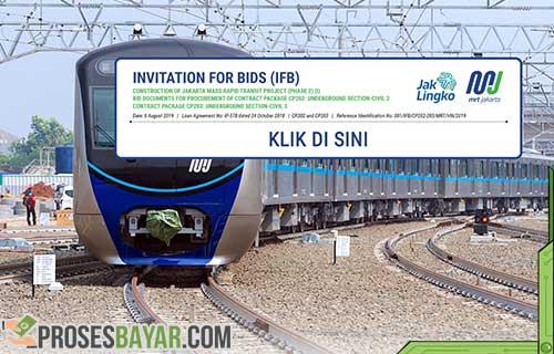 Cara Bayar MRT Jakarta Beli Kartu MRT Cara Naik MRT