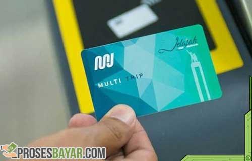 Cara Bayar MRT Pakai Kartu MRT Jakarta