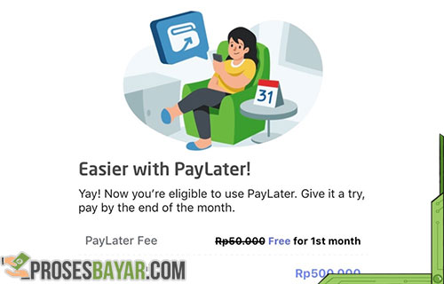 Cara Mendapatkan Paylater di Gojek