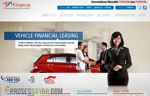 Cara Bayar Angsuran Toyota Astra Finance Semua Bank