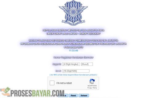 Cara Bayar Pajak Motor Jakarta Selatan Online E-Samsat