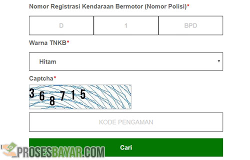 Cara Bayar Pajak Motor Online Bandung Lewat Website