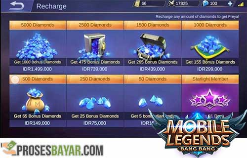 Cara Beli Diamonds Mobile Legends