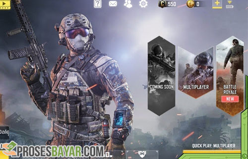 Cara Top Up Call of Duty Mobile Android dan iPhone