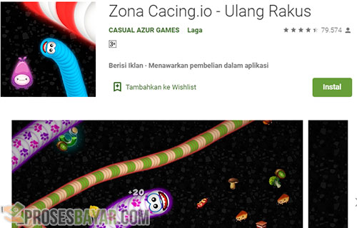 Cara Top Up Coins Worms Zone di Hp Android