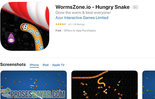 Cara Top Up Coins Worms Zone di Hp iPhone