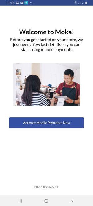 Aktivasi Mobile Payment