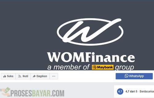 Cek Angsuran WOM Finance Online