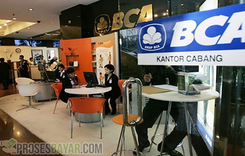via Kantor Cabang Bank BCA