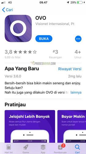Buka Aplikasi OVO