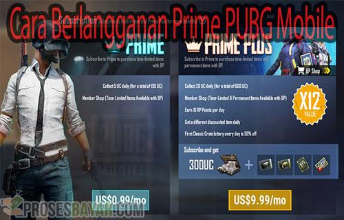Cara Berlangganan Prime PUBG Mobile