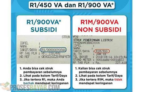 Cara Cek Listrik Subsidi dan Non Subsidi