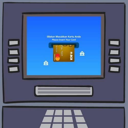 Masukan Kartu ATM BCA