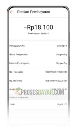 Rincian Pembayaran