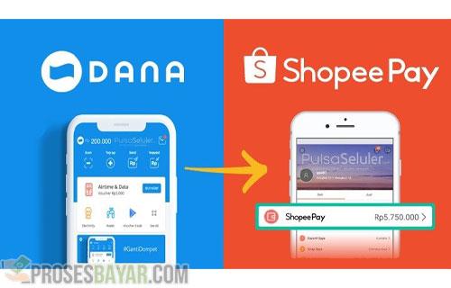 Cara Top Up Shopeepay Lewat Dana