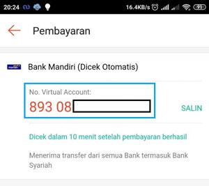Copy Nomor Pembayarannya