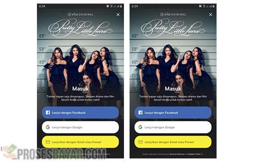 Lewat Aplikasi iOS Android