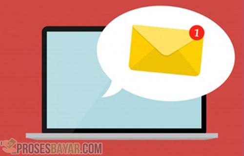 Lewat Email Pelanggan
