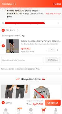klik Checkout