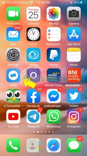 Buka Aplikasi DANA