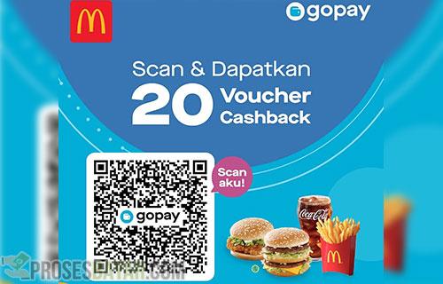 Cara Bayar MCD Pakai GoPay Terbaru