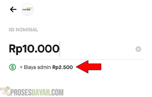Biaya Admin Transfer GoPay Ke Rekening Bank