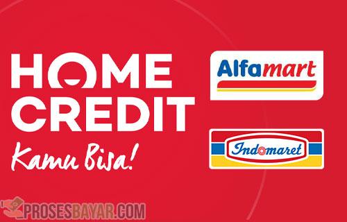 Cara Bayar Home Credit Lewat Alfamart Indomaret