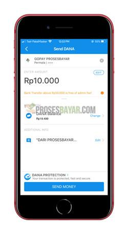 Tap Send Money