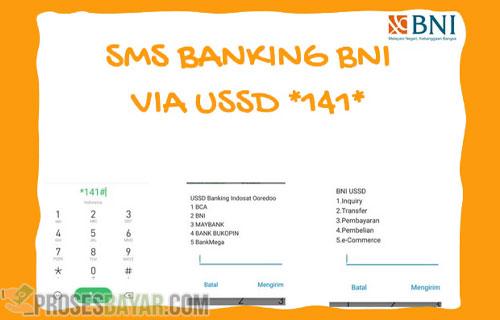 Cara Transfer SMS Banking BNI Antar Bank Metode USSD