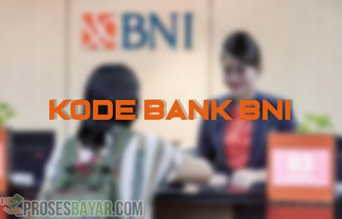 Kode Bank BNI Terbaru