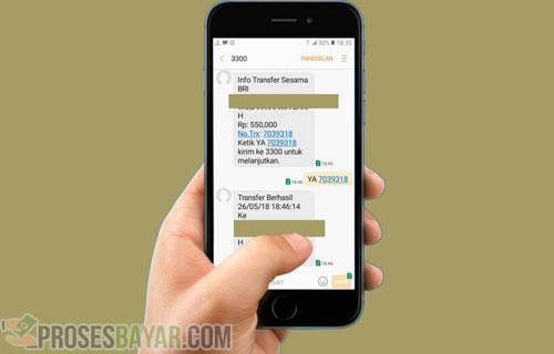 Transfer BRI ke BNI Lewat SMS Banking